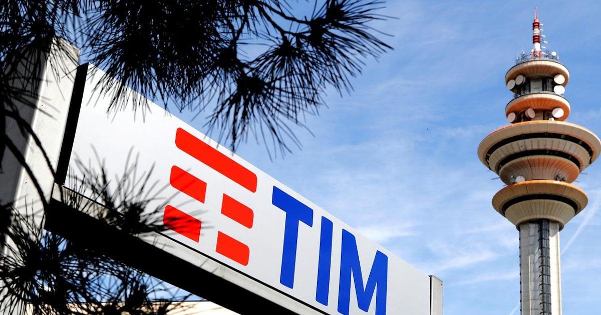 Telecom Italia (TIM) natpis